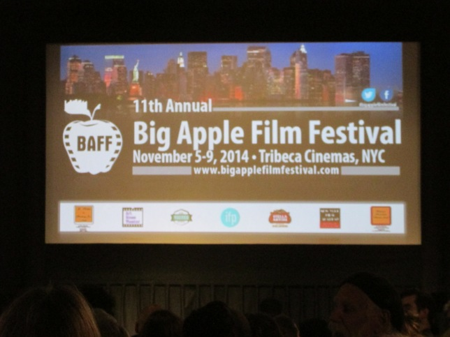 The 11th Annual Big Apple Film Festival at Tribeca Cinemas