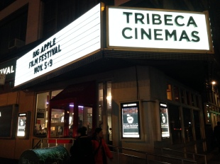 "It was an honor to have the theatrical premiere of ""Cash Mob For Avi"" at the Tribeca Cinemas!"