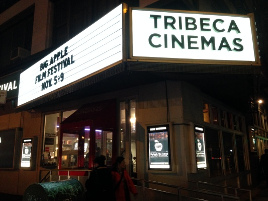 """It was an honor to have the theatrical premiere of """"Cash Mob For Avi"""" at the Tribeca Cinemas!"""
