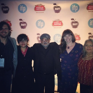 The Cash Mob Family! (From L to R: Mike Sayre, Katherine Rodriguez, Avi Gandhi, Liz Morrison, Bharati Gandhi)
